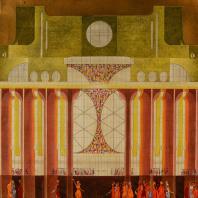 Проект Драматического театра имени Ф.М. Достоевского в Новгороде. Сомов В.А. 1974