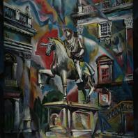 Андрей Мунц: Марк Аврелий. Холст, масло. 120х100