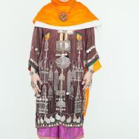 Женский свадебный костюм. Дагестан, селение Балхар, XIX в. Коллекция П. Гаммадовой