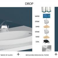 Дизайн-конкурс одного дня Roca One Day Design Challenge 2019. Приз от Фонда We Are Water. Drop. Юлия Дроздова и Софья Гущина