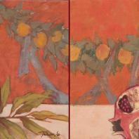 Выставка Татьяны Ян «Opus incertum / живопись и другие техники»
