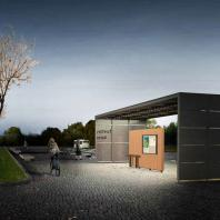 Проект остановочного комплекса Urban Living Room
