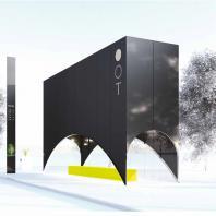 Проект остановочного комплекса «Между звезд»