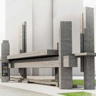 Проект остановочного комплекса «Форма следует за формой, а не за функцией»