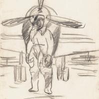 Дейнека А.А. «Летчик» 1942–1944