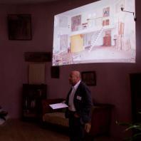 Международные наблюдатели обсудили планы обследовния Дома Мельникова перед реставрацией