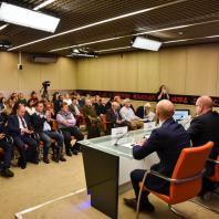 Пресс-конференция: «Энергоэффективность, комфорт, безопасность: концепция будущего выставки Interlight Moscow powered by Light + Building»