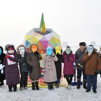 «Первобытный мираж» в Якутске. Сан Мигель Okuda. 2018 г.