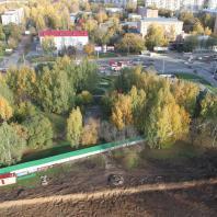 Фотофиксация: конкурс благоустройства территории, прилегающей к «МФК «Ривьера». ЖК №1» в Ижевске
