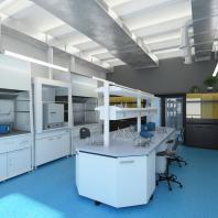 АО «Гиредмет». Создание нового пространства лаборатории, офиса, зоны отдыха и входной группы. 2014-2016