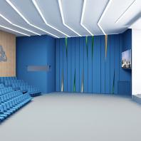 ЛАЭС-2. Объекты нового строительства: трансформируемый конференц-зал на 500 человек и здание столовой. 2014-2016