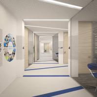 11-й этаж Главного здания Росатома. Офисы различных департаментов и управлений в штаб-квартире Госкорпорации. 2014-2016