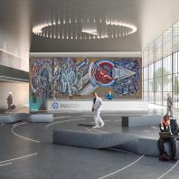 Финалист конкурса «Новое пространство Росатома»: 1-е место – студия дизайна PARAMETR