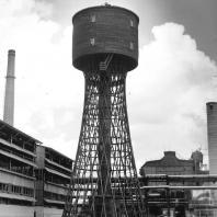 40-метровая водонапорная башня в Выксе. Инженер Шухов В.Г.