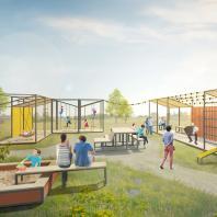 Конкурс на создание концепции общественного пространства для малых поселений городского типа. 1-е место. АБ «Парк» (Москва). Авторский коллектив: Валерия Ковенская, Роман Ковенский