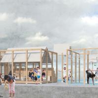 Конкурс на создание концепции общественного пространства для малых поселений городского типа. 3-е место. Авторский коллектив: Варвара Ягнышева, Аманда Сизых (Санкт-Петербург)