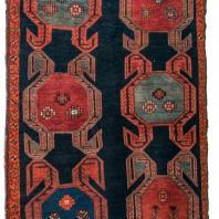 Ковер «Бахманлы». Азербайджан, Карабах. XIX в.. Шерсть, ворсовое ткачество. Коллекция Государственного музея Востока