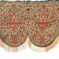 Ламбрекен для камина-бухары. Карабах (Азербайджан). 19 век. Коллекция Азербайджанского музея ковра