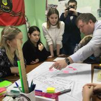 6 февраля 2019 г. в подмосковном Электрогорске состоялся воркшоп, посвященный благоустройству центральной части города