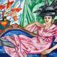 О.В. Розанова. «Портрет Анны Розановой». 1912. Екатеринбургский музей изобразительных искусств
