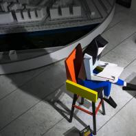Дмитрий Аске. Скульптура «Знание — сила». «ЗИЛАРТ в городе». II Биеннале уличного искусства АРТМОССФЕРА 2016