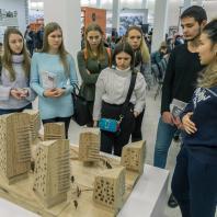 Открытие XXVI Международного архитектурного фестиваля «Зодчество'18». Проект РЕ-Устойчивость