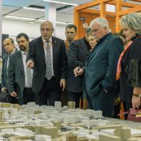 Открытие XXVI Международного архитектурного фестиваля «Зодчество'18». Стенд Краснодарского края