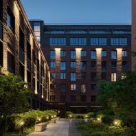Комплекс апартаментов «Большевик». АМ IND architects