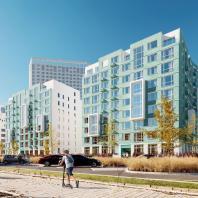 Проект второго жилого квартала в районе «NOVA-PARK». АО «Корпорация «Атомстройкомплекс»