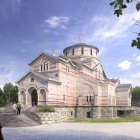 Концепция Храма в честь Святой Троицы в городе Борисове. Мастерская «Прохрам»