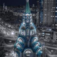 Собор Софии Премудрости Божией в Самаре. Авторский коллектив под руководством Ю.И. Харитонова